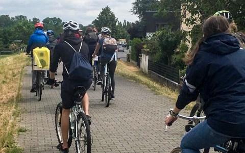 Stadtradeln in Wiesbaden. Auch Radtouren zählen: also rauf auifs Fahrrad. ©2020 Joelle Sander