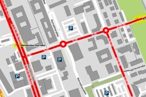 Brunhildenstraße ©2020 Openstreetmap