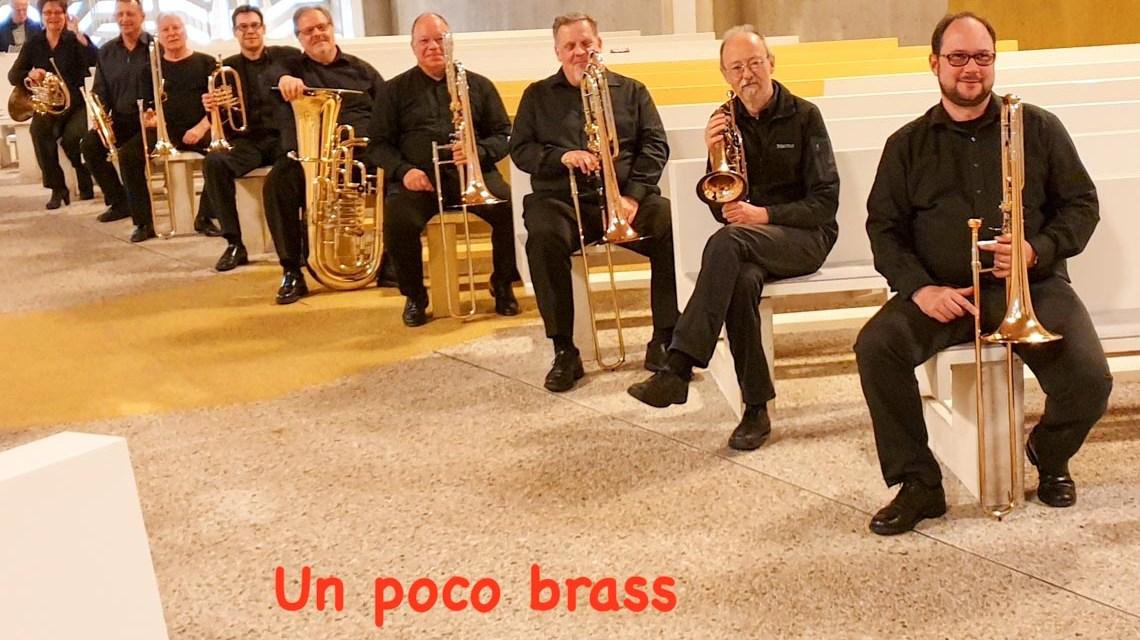 Bläsermusik mit un poco brass