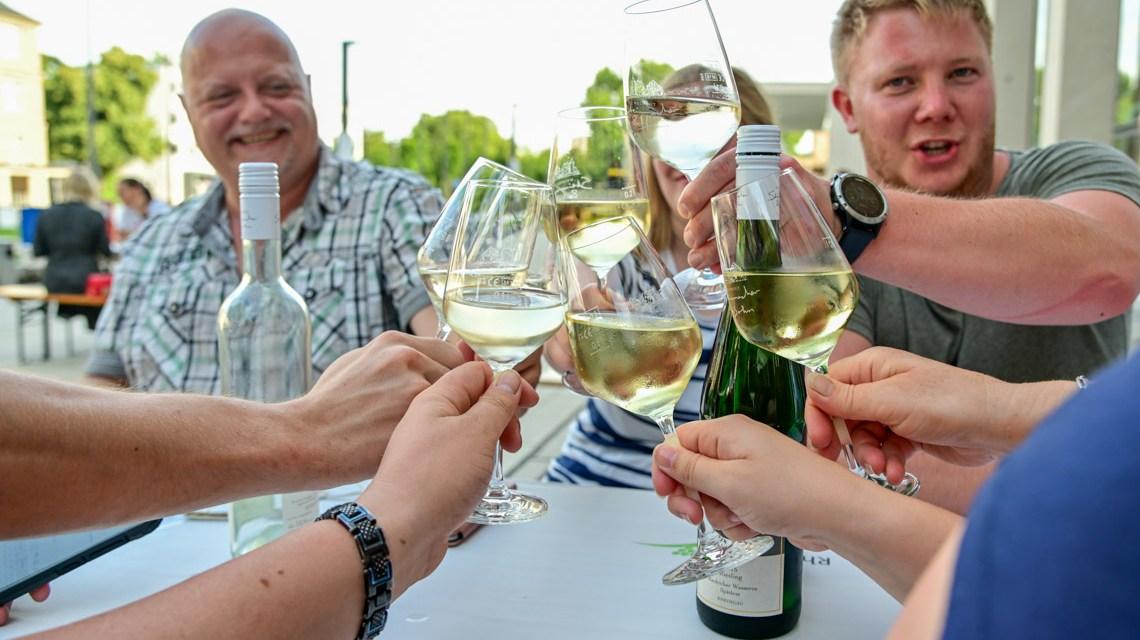 Weinfest, Weinprobierstand am RMCC