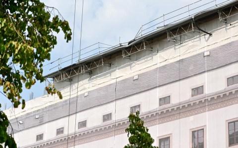 Hessischer Landtag Dachkonstruktion