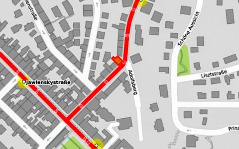 Geisbergstraße @2020 Openstreetmap