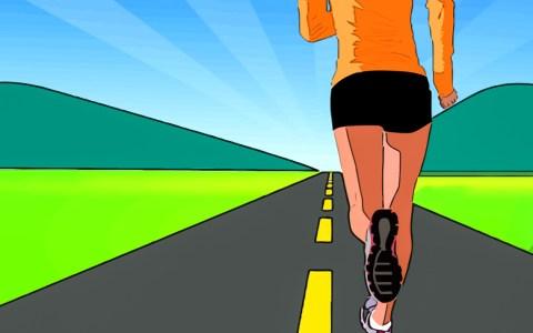 Laufen, virtuell udn spenden. ©2020 intographics auf Pixabay
