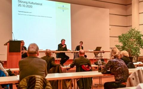 Kulturbeirat konstituierende Sitzuzng