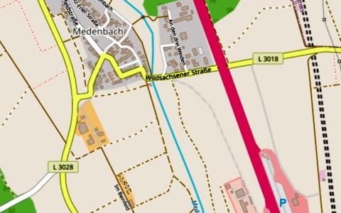 Landesstraße (L) 3018