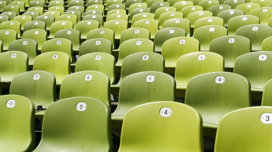 Sitze im Olympiastadion München ©2020 Michael Hagn auf Pixabay