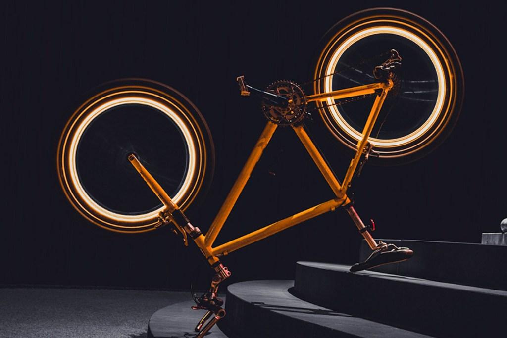 Fahrradfahren fotografieren