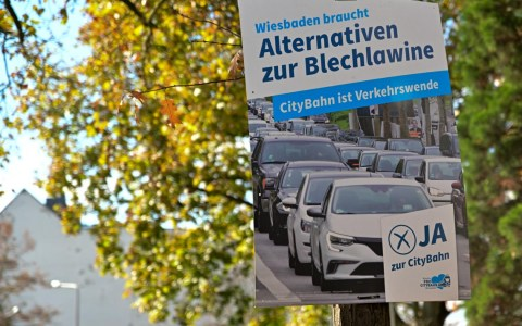 CityBahn abgesagt - Verkehrswende nicht!