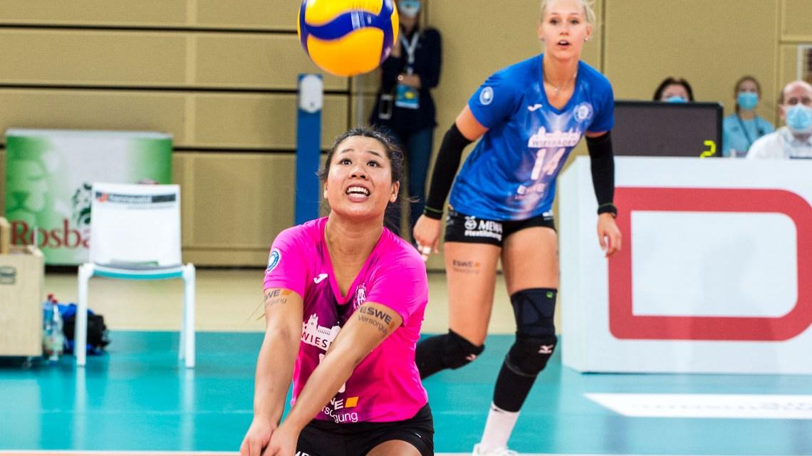 Justine Wong-Orantes : Volleyball Bundesliga 2020 2021 4 Spieltag VCW SCP1:3