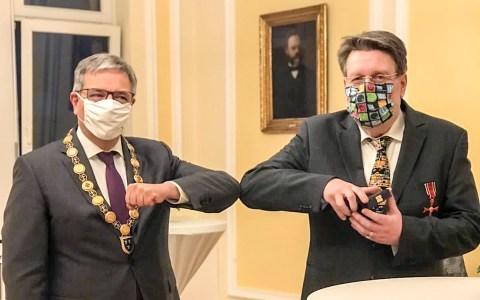 Michael Bischoff und Gert-Uwe Mende