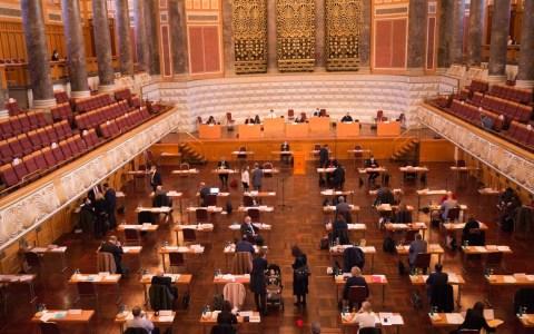 Stadtverordnetenversammlung im Kurhaus