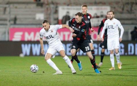 3. Liga, 21. Spieltag, SVWW - Viktoria Köln, 2:2, Gustaf Nielsson