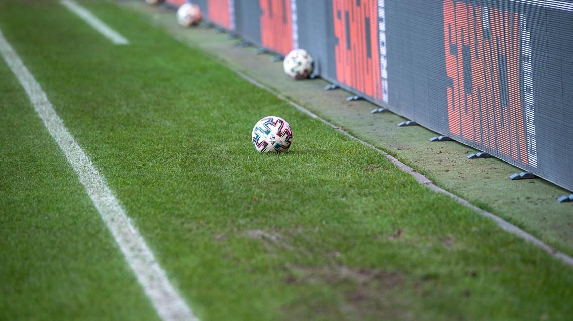 Fußball, 3. Liga, 2020.2021, 20. Spieltag, SC Verl gegen SV Wehen Wiesbaden, Endstadt 2:2, (2:0)