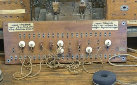 historische Telefonanlage