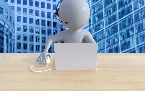 Call Center für Kontaktvermeidung