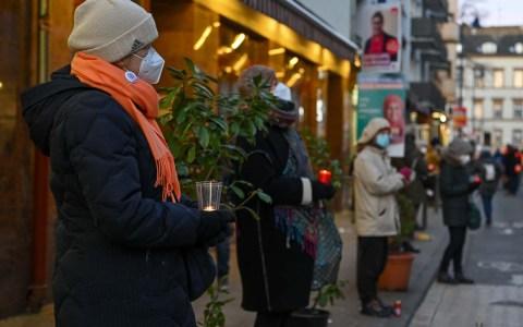 Mahnwache in der Wellritzstraße