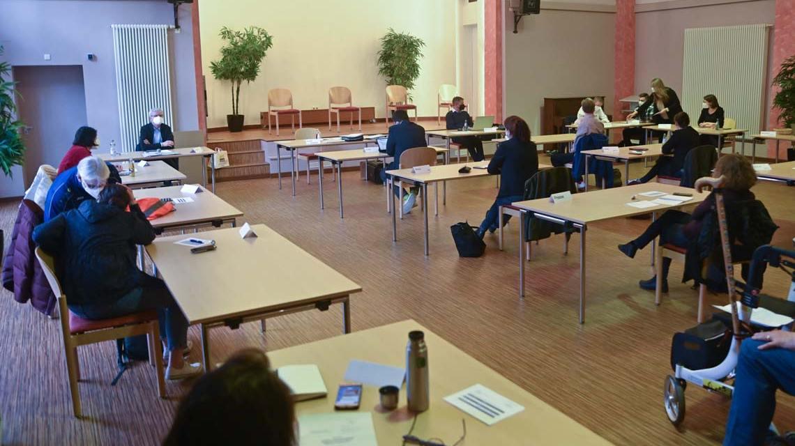 Ortsbeiräte, Konstituierende Ortsbeiratssitzung in Mitte