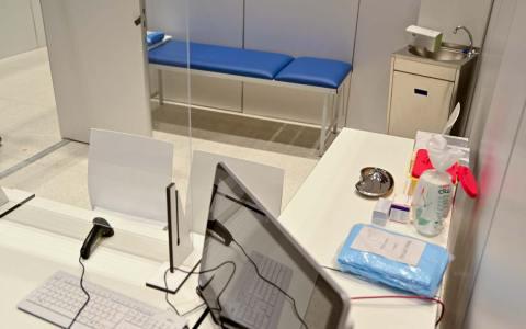 Das RMCC im Herzen von Wiesbaden wird zum Impfzentrum.