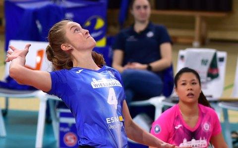 Tanja Großer: Archivbild:1. Volleyball Bundesliga, Damen, 2020.2021, 16. Spieltag, VC Wiesbaden – Rote Raben Vilsbiburg, 0:3