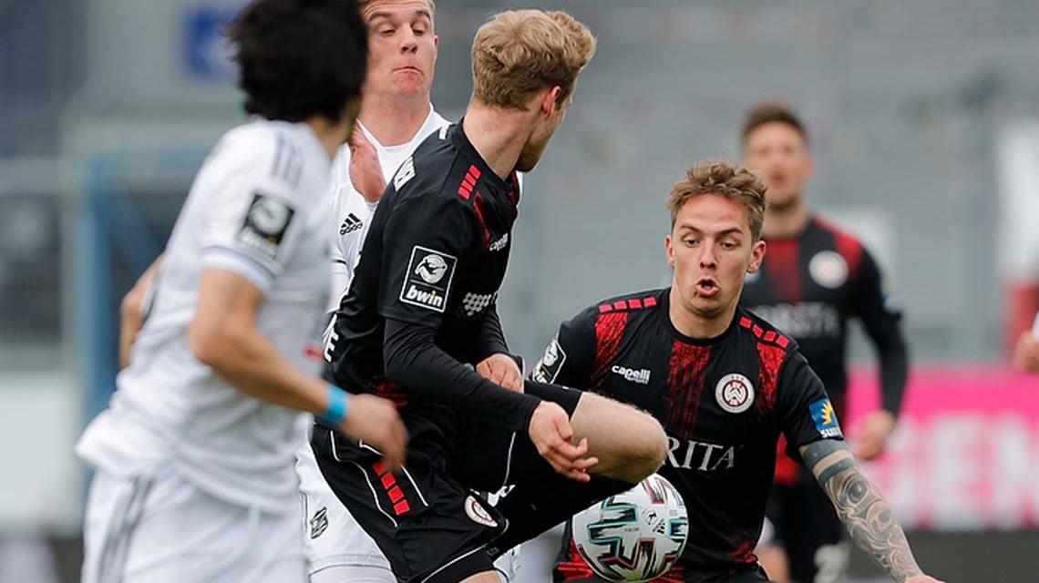 3. Liga, 32. Spieltag, SV Wehen Wiesbaden - SpVgg Unterhaching