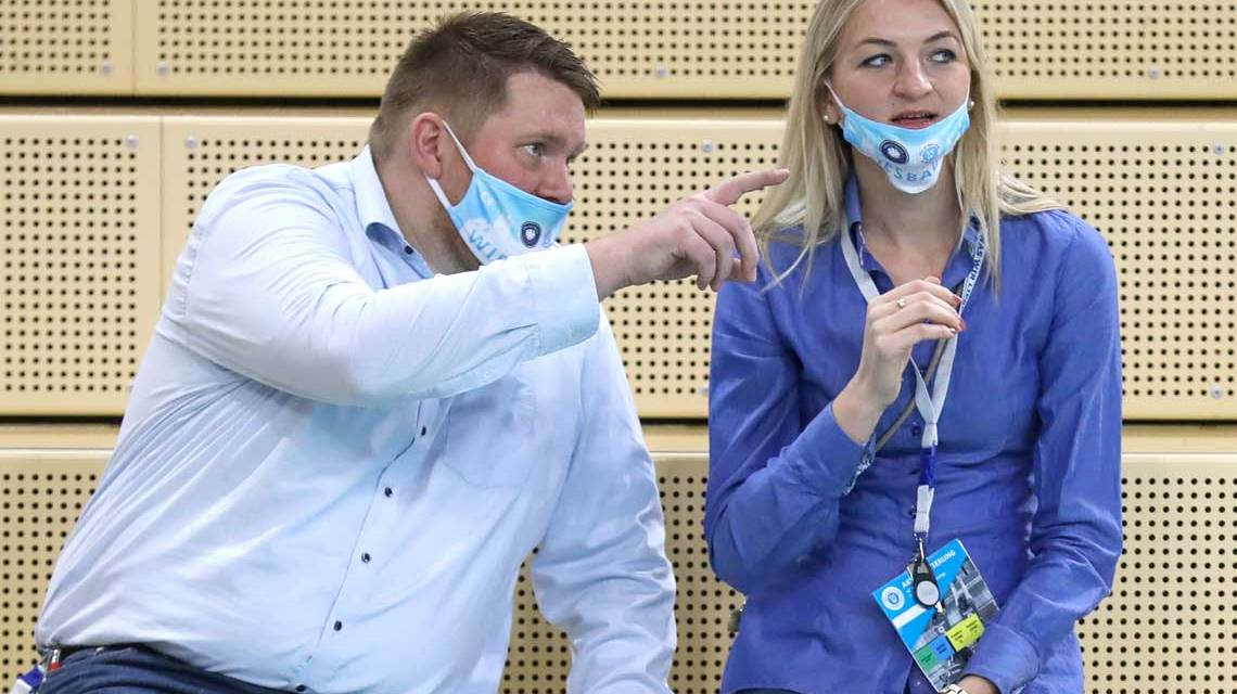 Christopher Fetting und Simona-Kosova im Gespräch