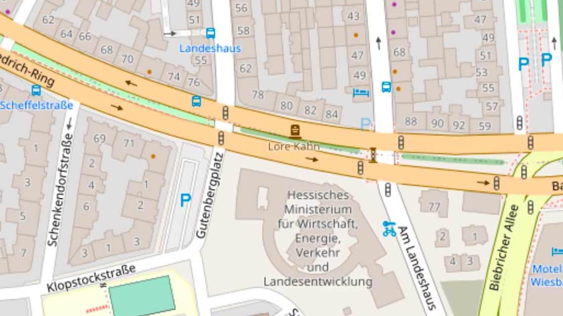 Neuer Bauabschnitt Oranienstraße/Gutenbergplatz, DIGI-V
