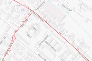 Straße Talheim, Kanalarbeiten