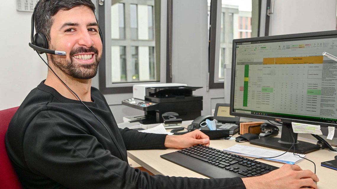 Gesundheitskonferenz : Containment Manager zur Kpontaknachverfolgung im Gesundheitsamt Wiesbaden.
