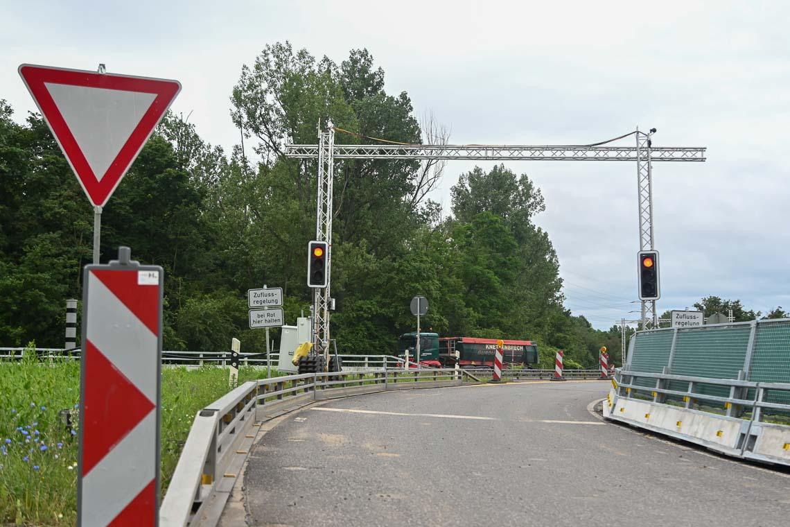 Bypass am der Salzbachtalbrücke