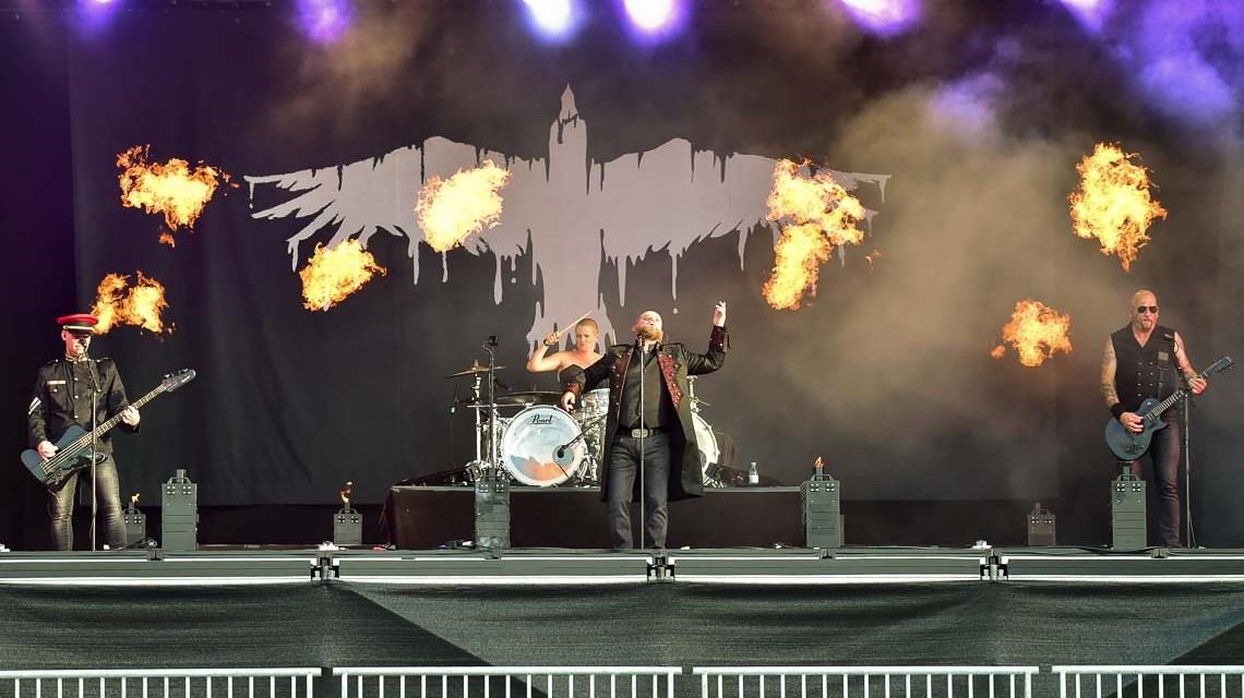 Mono Inc. in Concert in Wiesbaden