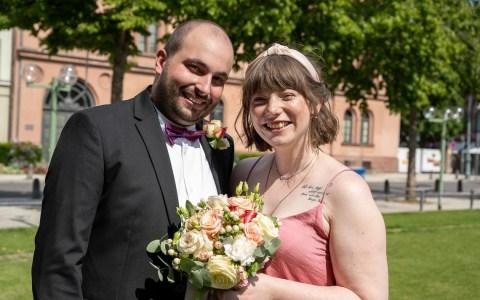 Brautpaar-der-Woche: Daniel Roodriguez Baumann und Svenja Drevermann