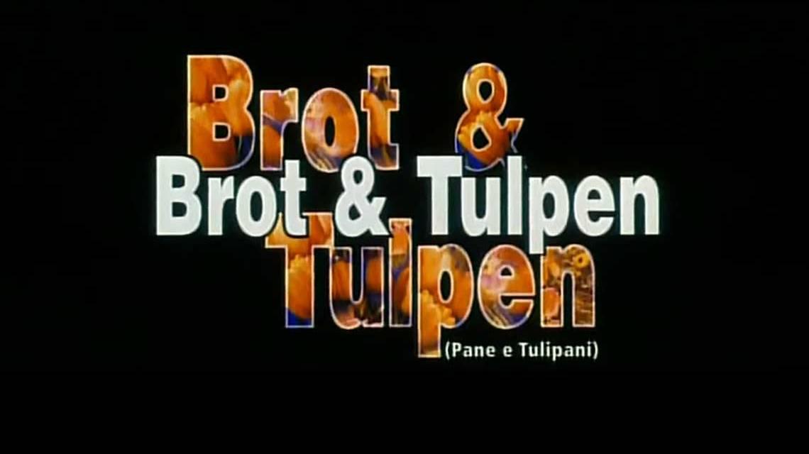 Brot und Tulpen