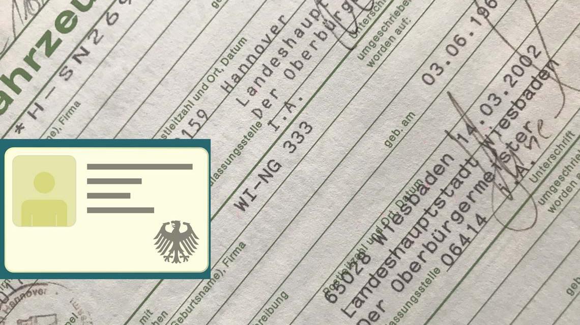 Online-Abmeldung von Kraftfahrzeugen, Auto abmelden