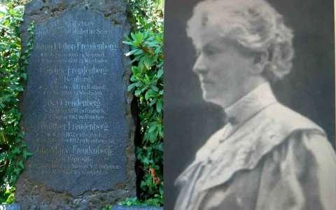 Ehrengrab für Ika Freudenberg