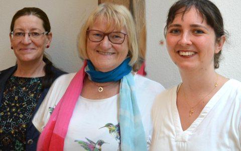 Ein Gespräch mit Pfarrerin Katharina Wegner, Pfarrerin Birte Kimmel und Pfarrerin Christa Böttcher.