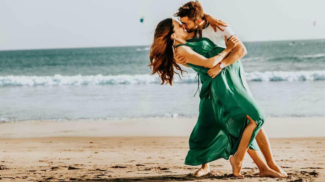 Romantik am Strand