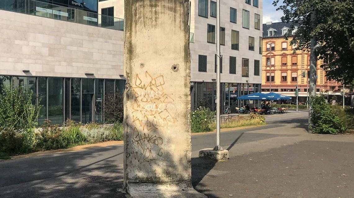 Berliner Mauer in Wiesbaden