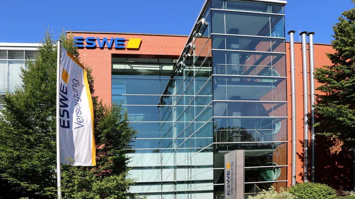 Hauptgebäude der ESWE Versorgungs AG Foto: ESWE