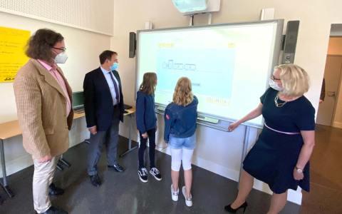 Lerncamp an der Werner-von-Siemens Schule in Wiesbaden. ©HKM