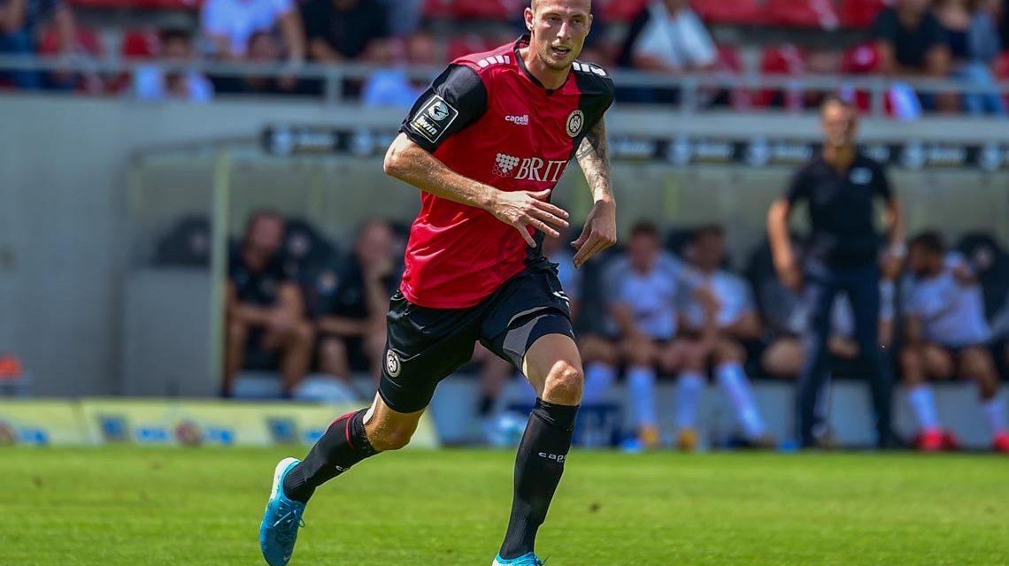 Gustaf Nielsson am 2. Spieltag, Archivfoto