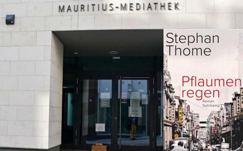 Mauritius Mediathek Lesung mit Stephan Thomes