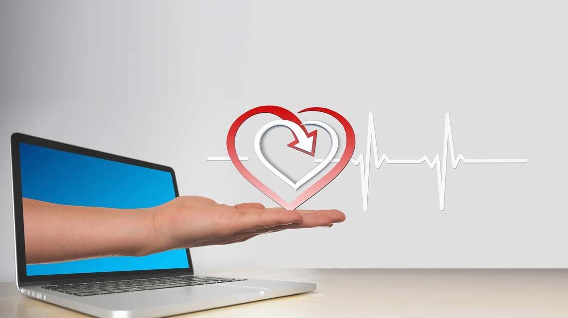 Netzwerk Gesundheit online teilnehmen ©2021 Symbolfoto Pixabay