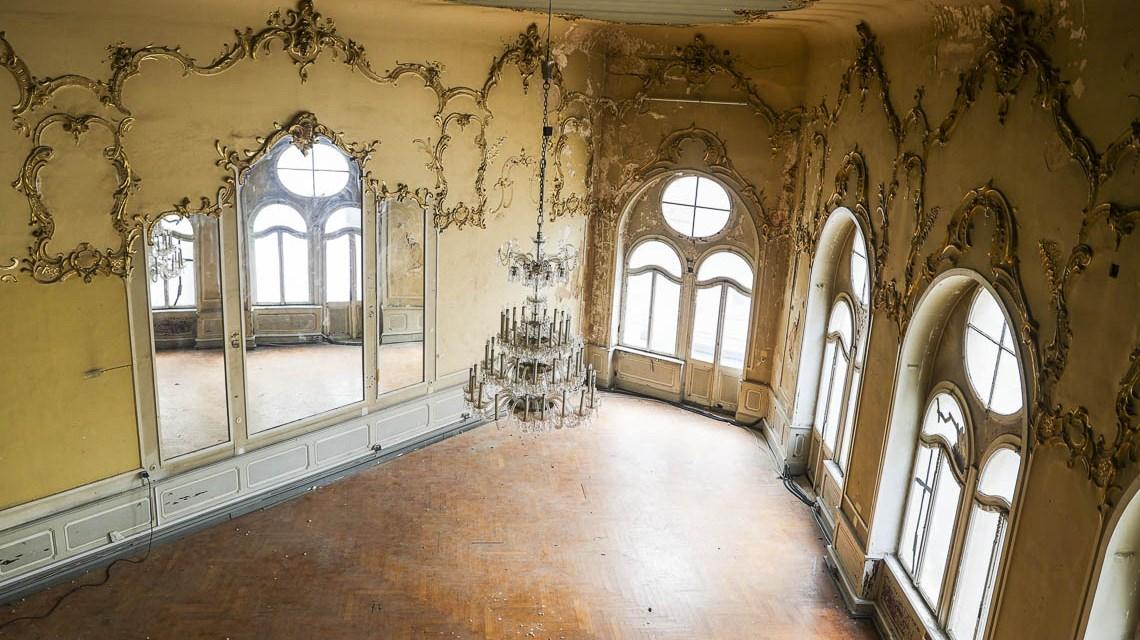Walhalla: Blick in den Spiegelsaal