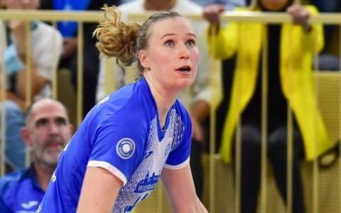 Laura Künzler erspielt sich die MVP Medaille Gold