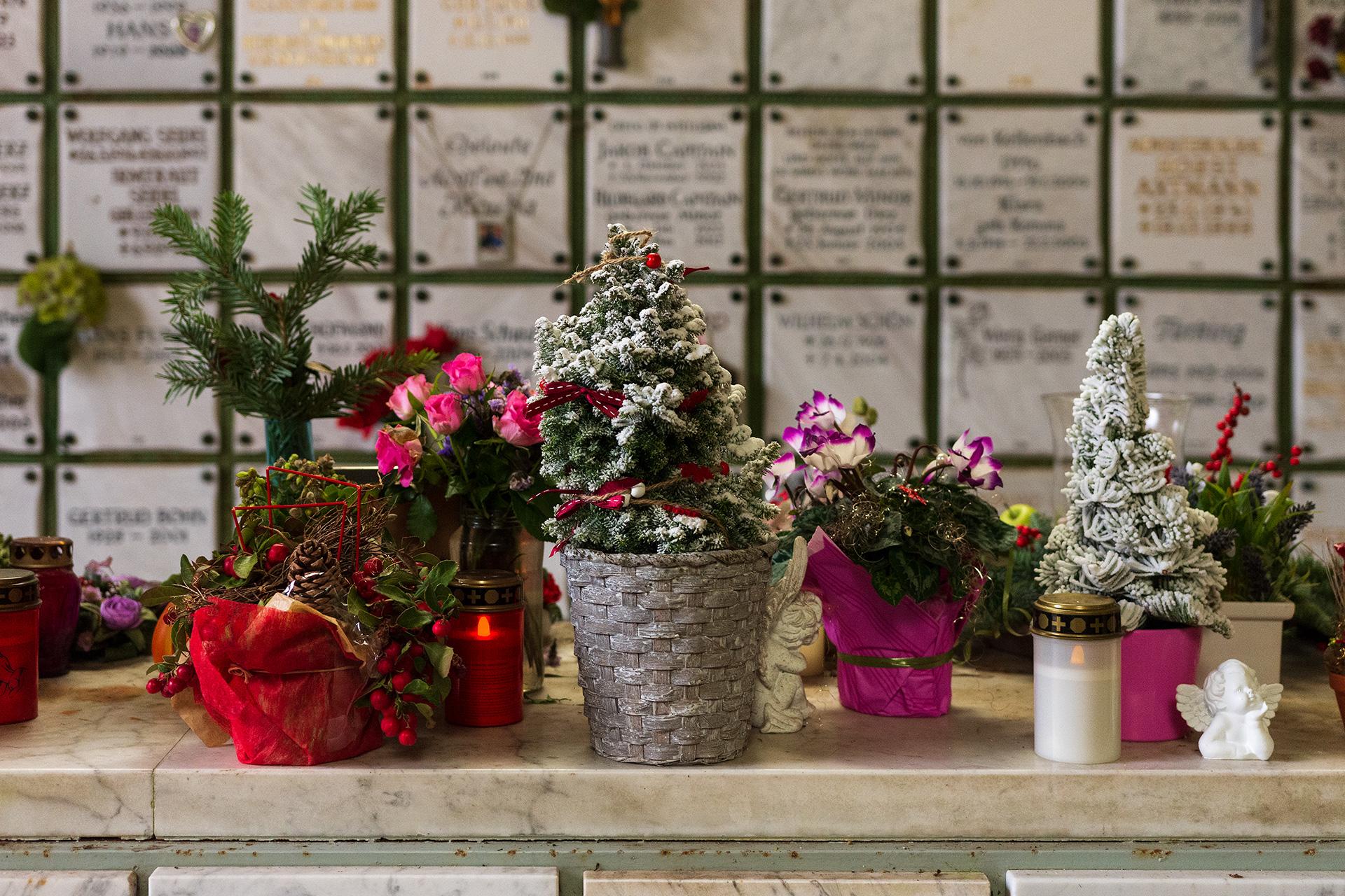 Wiesbaden Nordfriedhof, Weihnachten