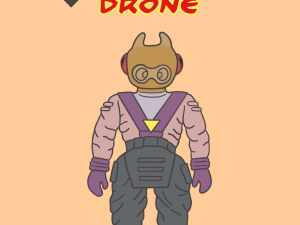 Dino Riders Rulons – Drone