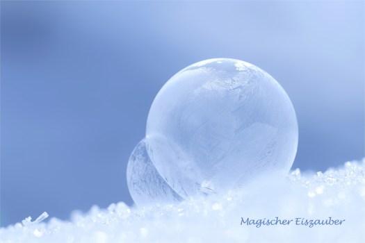 Magischer Eiszauber - Seifenblasenduett