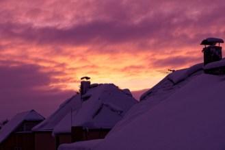 über den Dächern von Schönbach