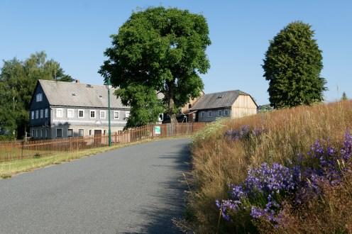 Randstreifen in Schönbach