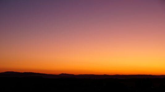 Sonnenuntergang, Mühle Kottmarsdorf
